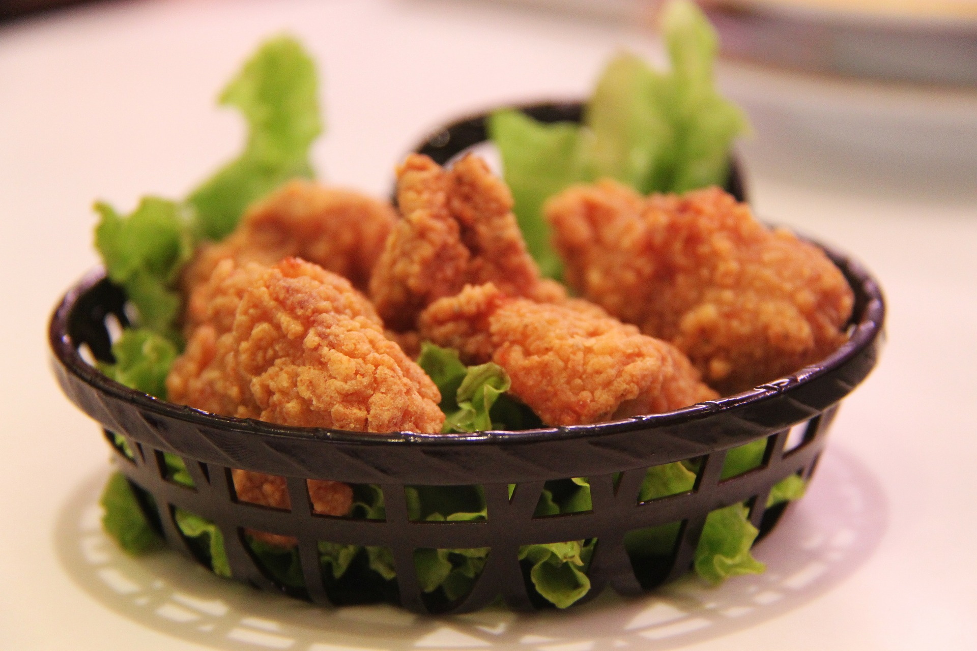 comidas pollo frito